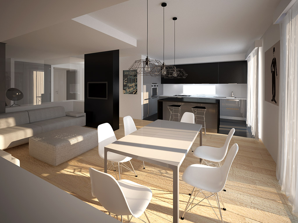Interior design residenza privata noon architecture for Interni design studio